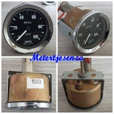 Smiths Oliedrukmeter mechanisch nr1553