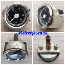Vdo oliedrukmeter mechanisch 25Bar nr1583