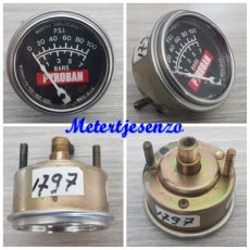 Pyroban oliedrukmeter 7bar 52mm nr1797